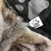 Plyšová zvieracia čapica animal - Vlk