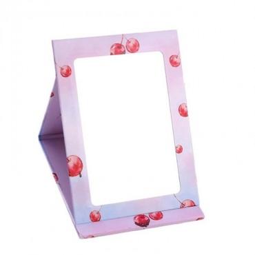 Prenosné skladacie zrkadielko so stojanom Cherry