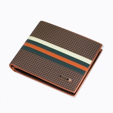 Bogesi pánska peňaženka Carved lines - Hnedá