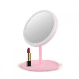 Stolné dievčenské kozmetické Zrkadlo Elli Ružové
