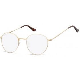 Dioptrické okuliare na počítač Anti Blue Oval F54A zlaté