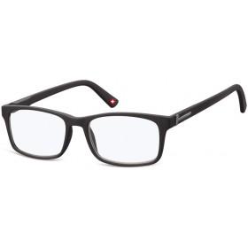 Dioptrické okuliare na počítač Anti Blue MX73 čierne