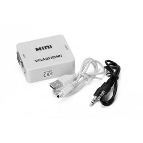 Prevodník signálu VGA + Audio na HDMI