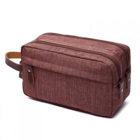 Toaletná kozmetická taška Carry Up Hnedá