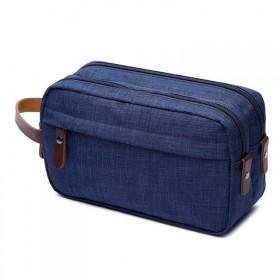Toaletná kozmetická taška Carry Up Modrá