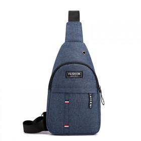 Pánska taška cez hruď INSTINCT Modrá