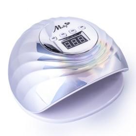 MollyLux UV LED lampa na nechty 86W HoloInfinity Silver