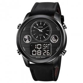 SKMEI 1653 duálne hodinky Big Face Čierne