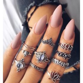 Sada Bohém prsteňov 10ks MONIQUE