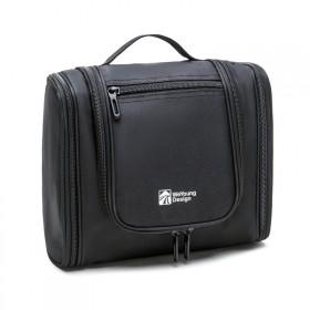 Travel závesný organizér Toaletná taška Čierna