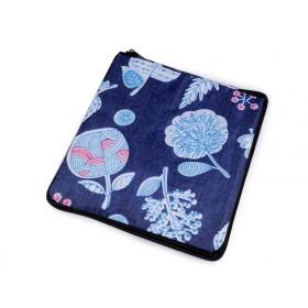 Pevná skladacia nákupná taška so Dark flowers