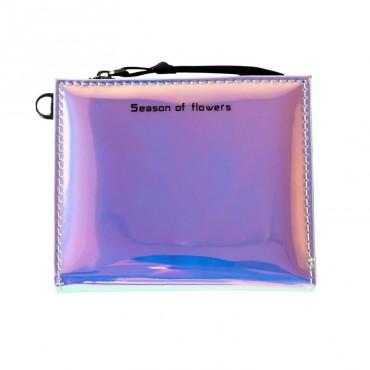 Dievčenské holografická peňaženka Season LOVE