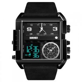 SKMEI 1391 duálny hodinky 3 times Black Edition