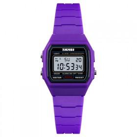 SKMEI 1460 dievčenské digitálne hodinky fialovej