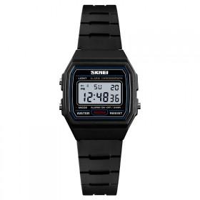 SKMEI 1460 detské digitálne hodinky Čierne