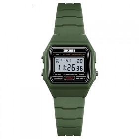 SKMEI 1460 detské digitálne hodinky Zelené