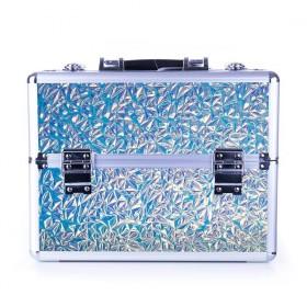 DIAMOND kozmetický kufor XL Holo Blue