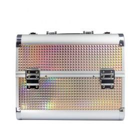 MollyLac kozmetický kufrík L Holo Gold