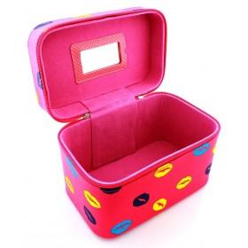 BMD Kozmetický kufrík sexy pery Ružový