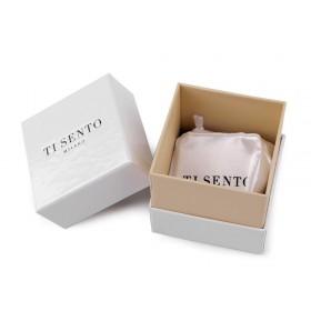 Papierová krabička s darčekovým vrecúškom 6 cm