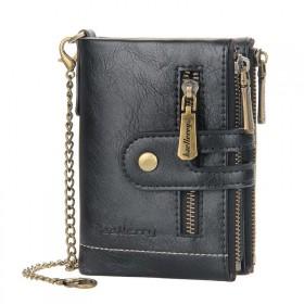 Baellerry pánska peňaženka s retiazkou Čierna