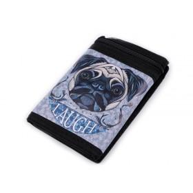 Chlapčenská látková peňaženka s retiazkou Psík