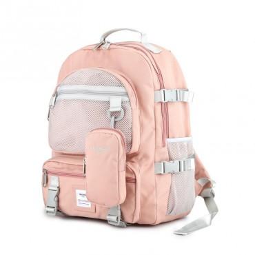 Himawari dievčenský školský batoh Bacon NR45 Ružový