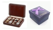 Krabičy, kazety a boxy na hodinky